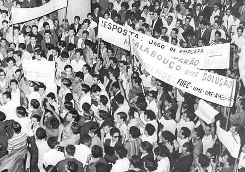 Evento de Registro Cultural e Políticio do Ano Mundial de 1968 Traz Reflexões  e Avanços.