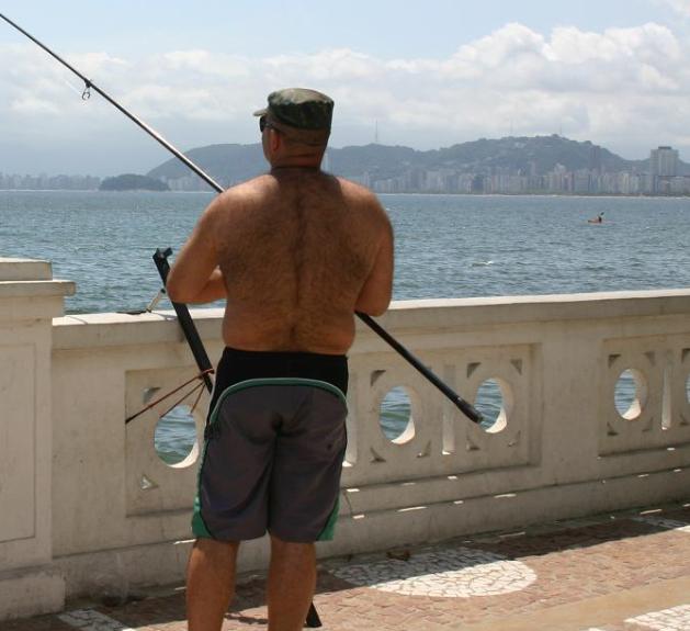 Pescaria em Santos tem lugar apropriado