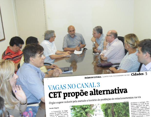 Canal 3 – CET propõe alternativa