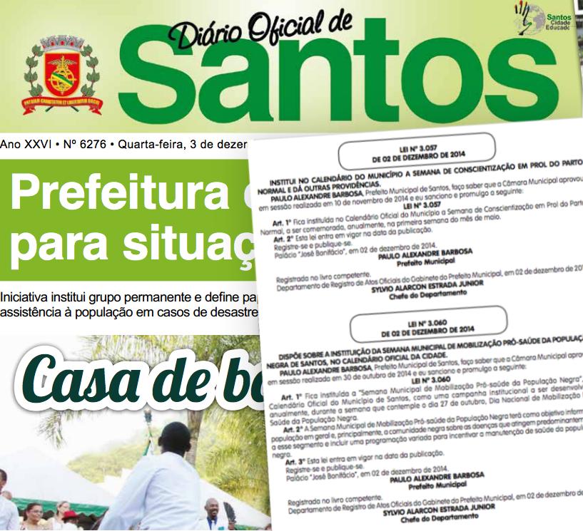 Prefeito sanciona leis voltadas à saúde de parturientes e população negra