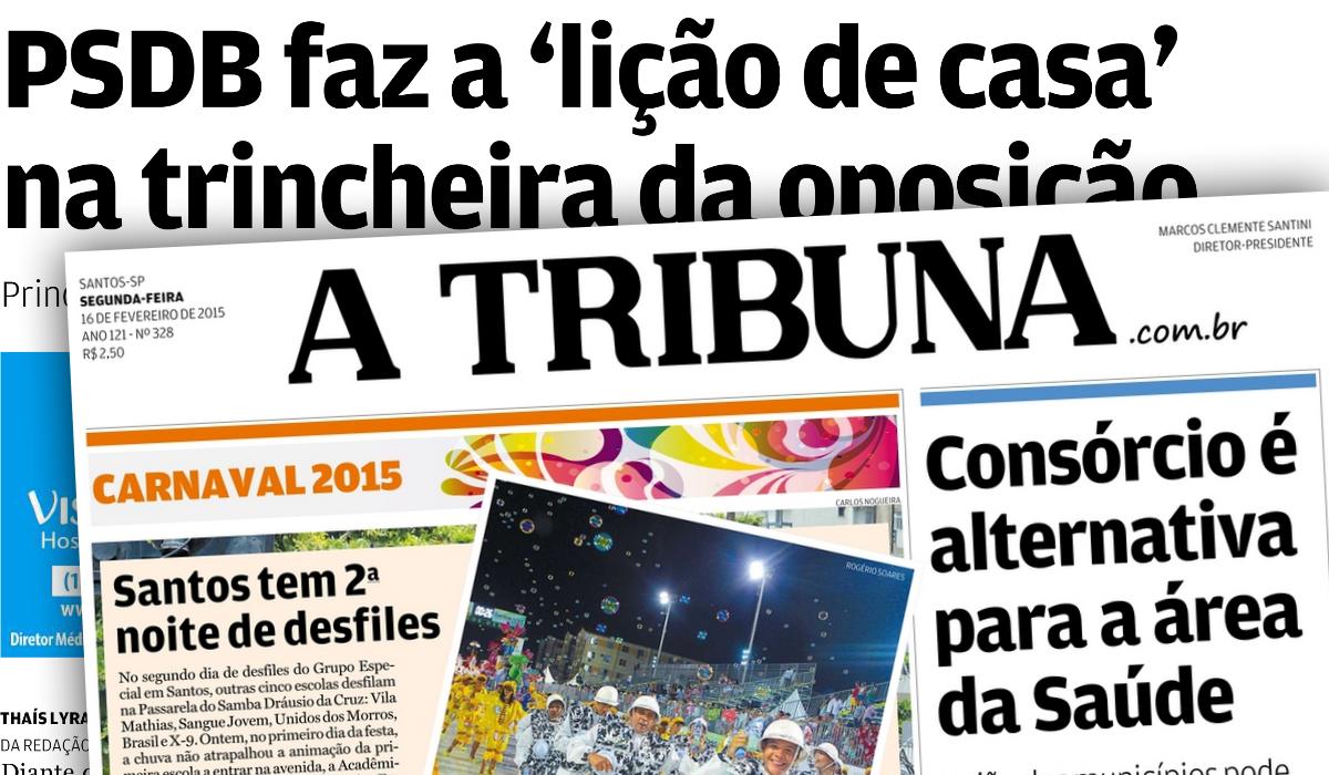 A Tribuna cita apoio de Ademir Pestana aos Funcionários da Petrobras