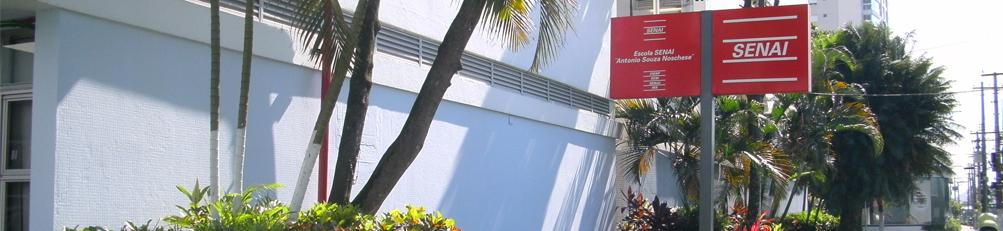 Vereador cobra andamento das obras do Senai em Santos