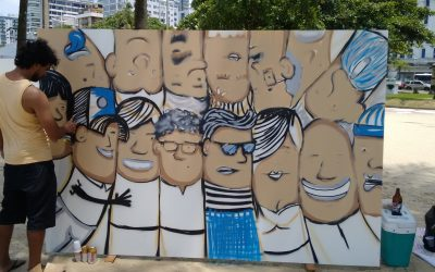 COM O APOIO DE EMENDA PARLAMENTAR, GRAFFITI FAZ SUCESSO