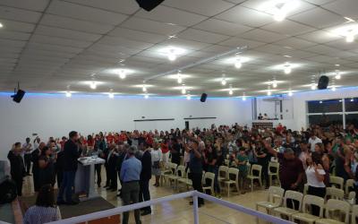 CULTO  DE AÇÃO DE GRAÇAS INTEGRA O ANIVERSÁRIO DA CIDADE